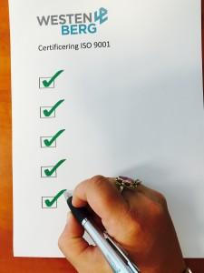 Foto certificering ISO 9001